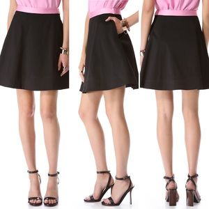 NEW WITH TAGS Black Champagne Round A Bout Skirt